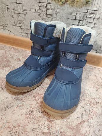 Сапоги ботинки теплые зимние Oshkosh непромокаемые 32 размер.