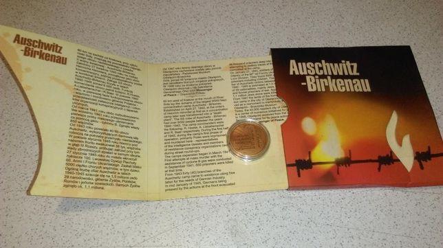 Pamiątka okolicznościowa wyzwolenie auschwitz 60-rocznica