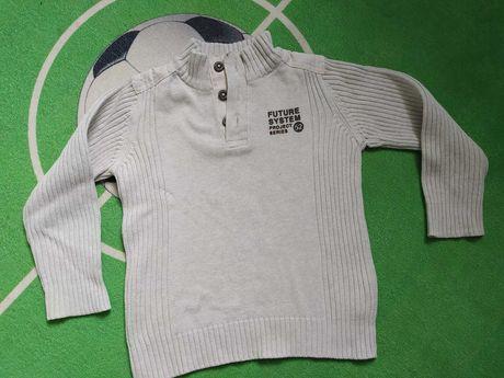Sweter dla chłopca rozmiar 110