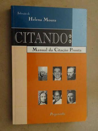 Citando - Manual da Citação Pronta de Helena Moura