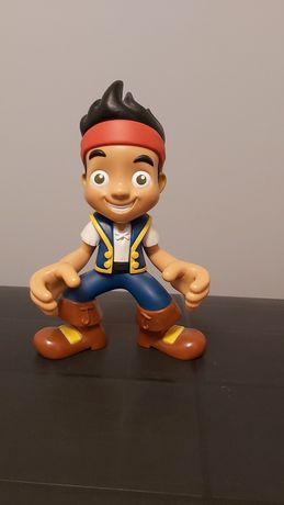 Duża interaktywna figurka Jake i Piraci z Nibylandii.