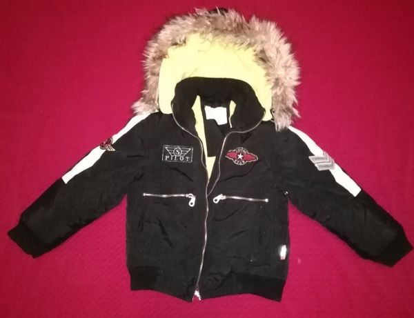 Куртка зимняя 4-6лет