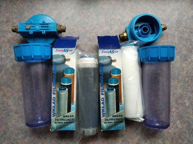 System podzlewakowy oczyszczania wody z wylewką