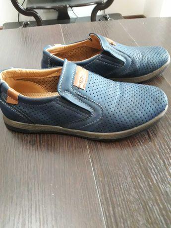 Туфли-макасины URBAN, кожа, новые, р.34