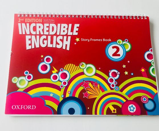 Incredible English 2 Story Frames Book 2nd Edition