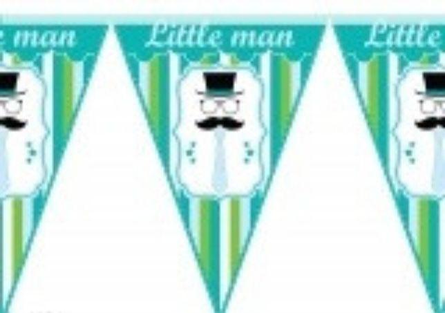 Гирлянда-флажки little man Литл Мен