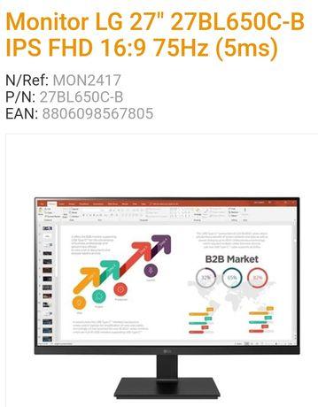 """LG 27BL650C-B IPS 27"""" FHD 16:9 75Hz"""