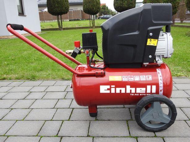 Kompresor olejowy firmy Einhell, 24 litry, 10 bar, 270 l/min, nowy