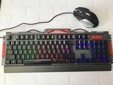 Клавиатура с мышкой UKC K33 (с подсветкой)