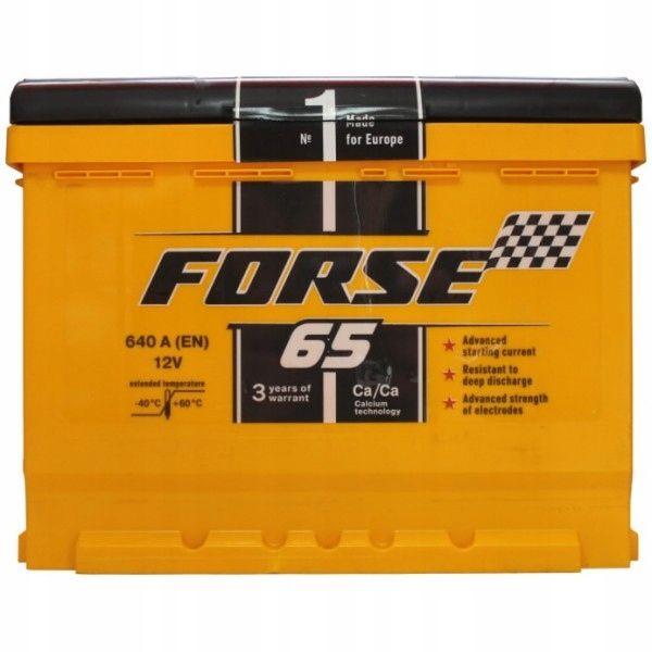 Akumulator WESTA Forse 65Ah 640A Brzeziny Brzeziny - image 1
