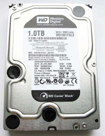 WD Black 1TB SATA2 (Новый)