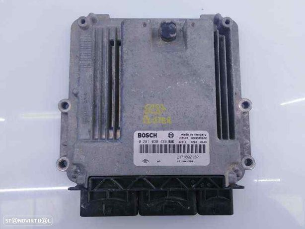 0281030439 Centralina do motor DACIA DUSTER (HS_) 1.5 dCi K9K 612