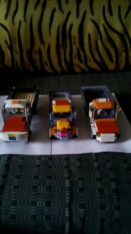 Машинки з оригинального лего.