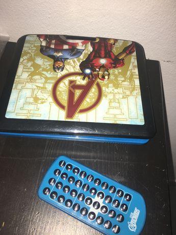 Leitor DVD portátil Vingadores