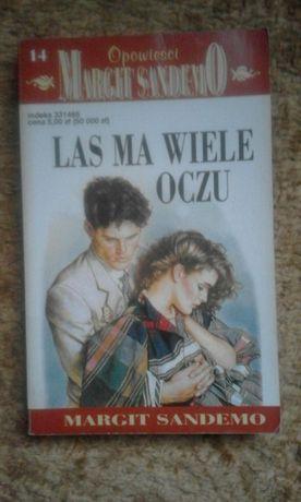 """Książka ,, Las ma wiele oczu"""" Margit Sandemo"""