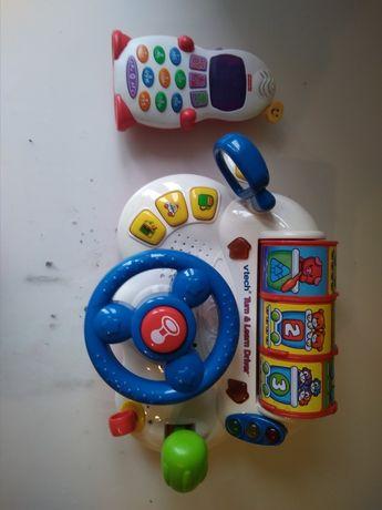 Kierownica vtech telefon Fischer price