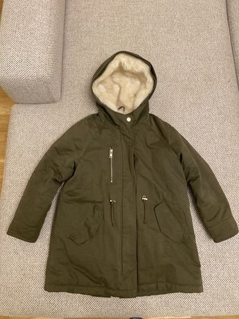 Продам куртку парку Zara kids 128