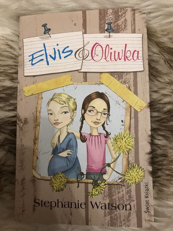 Książka Elvis i Oliwka