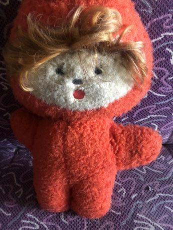 Мягкая кукла СССР для коллекционеров