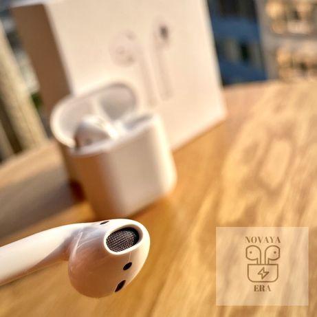 AirPods 2 наушники идеальное качество звука чехол в подарок