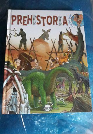 Książka dla dzieci o prehistorii