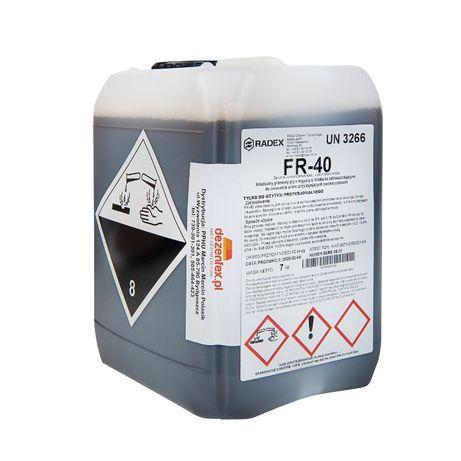 FR40 28kg Płyn do mycia pow. z tworzyw sztucznych i stali nierdzewnej