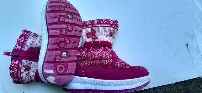 Дитячі зимові сапожки для дівчинки