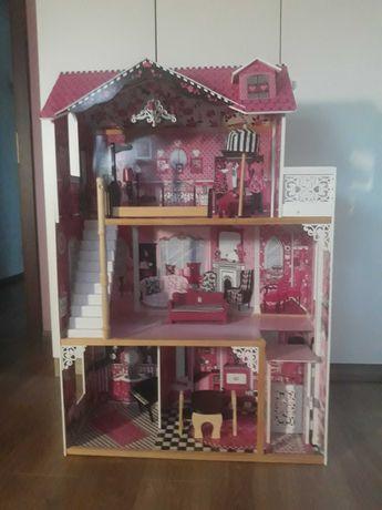 Drewniany domek dla lalek KidKraft Amelia 120 cm