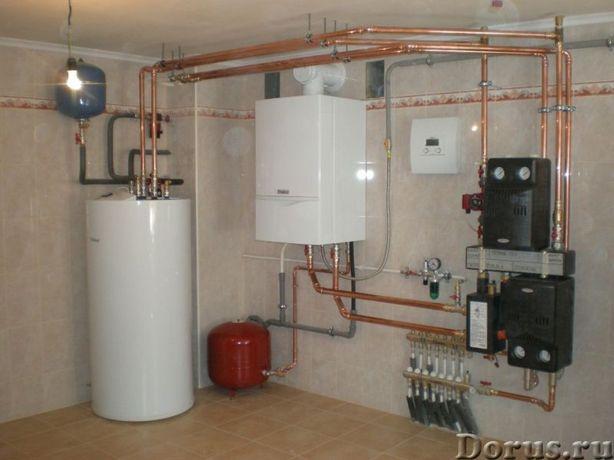 Газов.котлы, электрокотлы, колонки, конвекторы - ремонт и тех.обслуж.