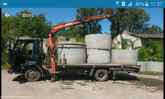 Кільця бетонні для каналізацій переоахунок. Готівкаю є сертифікат