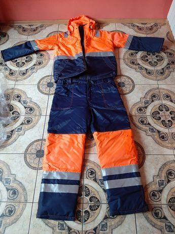 Odzież robocza zimowa. Kurtka+spodnie Nowe