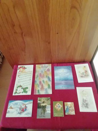 Diversos postais em alemão