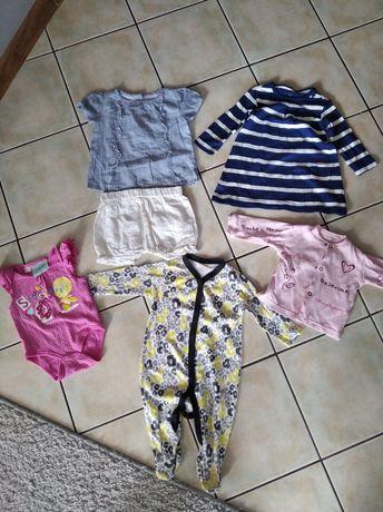 Nowe ubranka dla dziewczynki