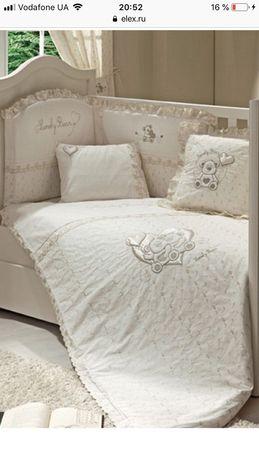 Детский спальный комплект Funnababy Lovely Bear 7 элементов( Турция)