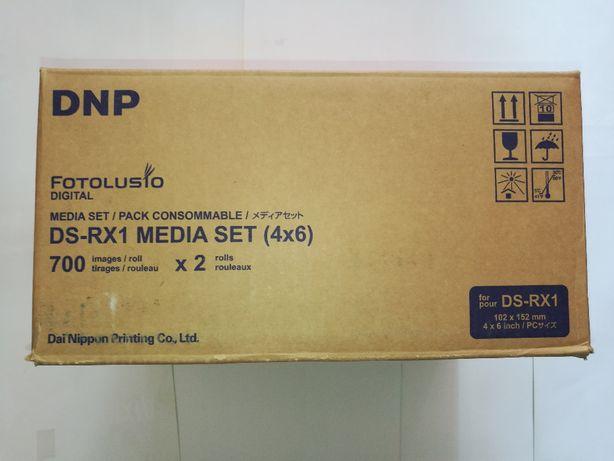 Папір термосублімаційний DNP DS RX1 10x15 (1400 відбит.), фотобумага