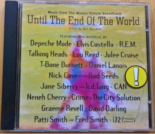 """""""Until the end of the World"""" CD."""