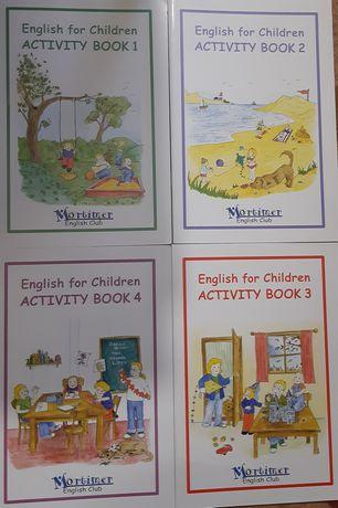 Англійська мова 4 книжки