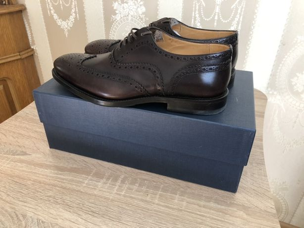 Мужские туфли , броги Италия ORTIGINI оригинал р 42
