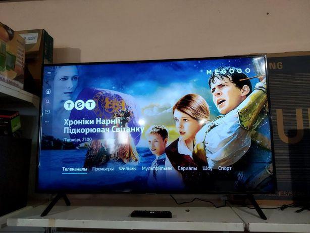 Samsung 50 дюймов Телевизор 4K UltraHD, Smart TV, DVB-T2, WiFi
