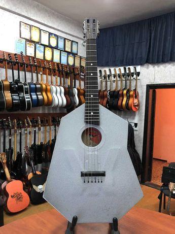 (3526) Редчайшая Гитара с Металлическим Корпусом Эксклюзив