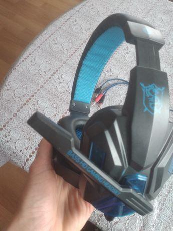 Sluchawki niebieskie