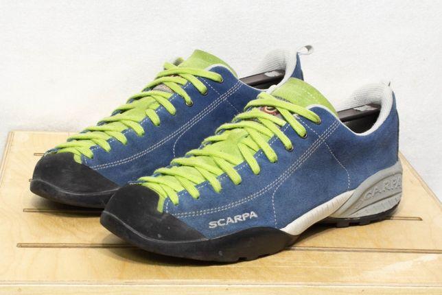 scarpa mojito 43 - 28 см кроссовки мужские туристические трекинговые