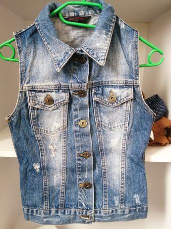 Sprzedam jeans kamizelke