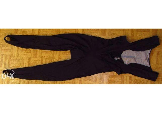 NOWE długie spodnie/getry kolarskie Tenn z szelkami r. 3XL