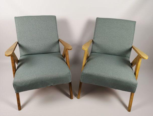 Fotele typ 310/B VAR, prl/vintage - 2 sztuki | po renowacji | wysyłka
