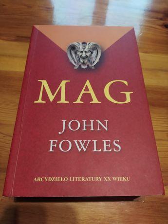 """Książka """"Mag"""" John Fowles"""