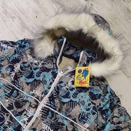 Новая зимняя курточка, рост 110
