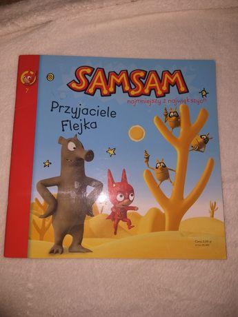 Książeczka Sam Sam