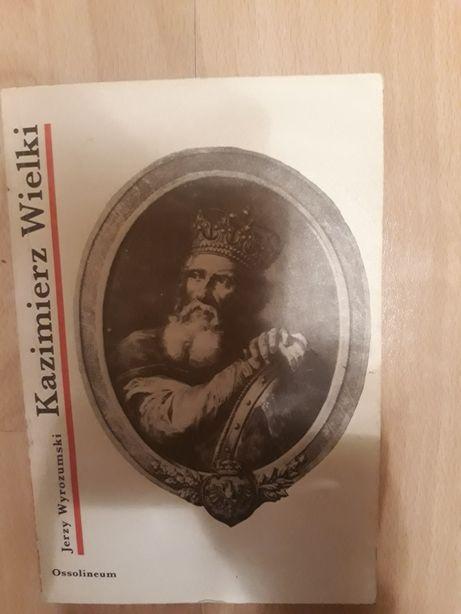"""Książka """"Kazimierz Wielki"""""""