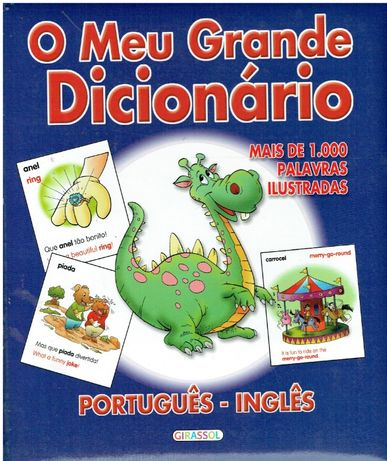 7915 O Meu Grande Dicionário - Português/Inglês